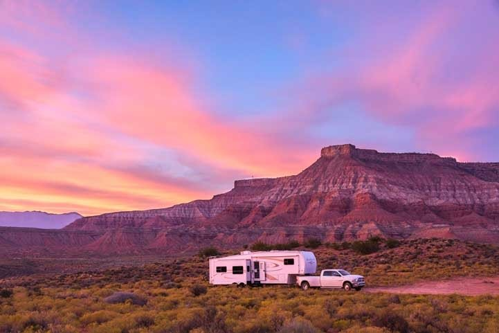 2020 predicts RV trends of increased boondocking and dry camping.