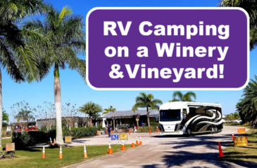 RV Camping at a Vineyard & Winery in Florida with Harvest Hosts