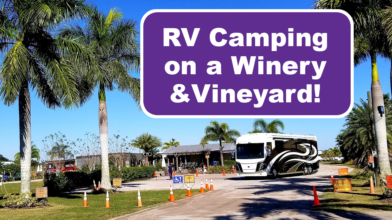 RV Camping Winery Floriday Header image