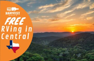 Free RVing in Central Texas
