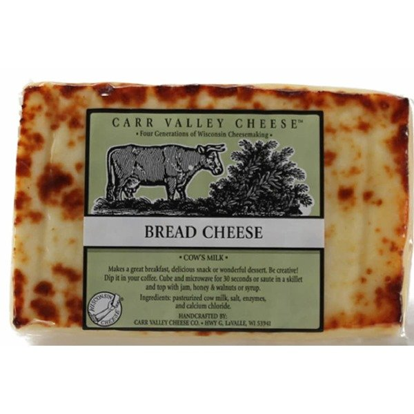 Bread cheese is a staple of Carr Valley Cheese Co.