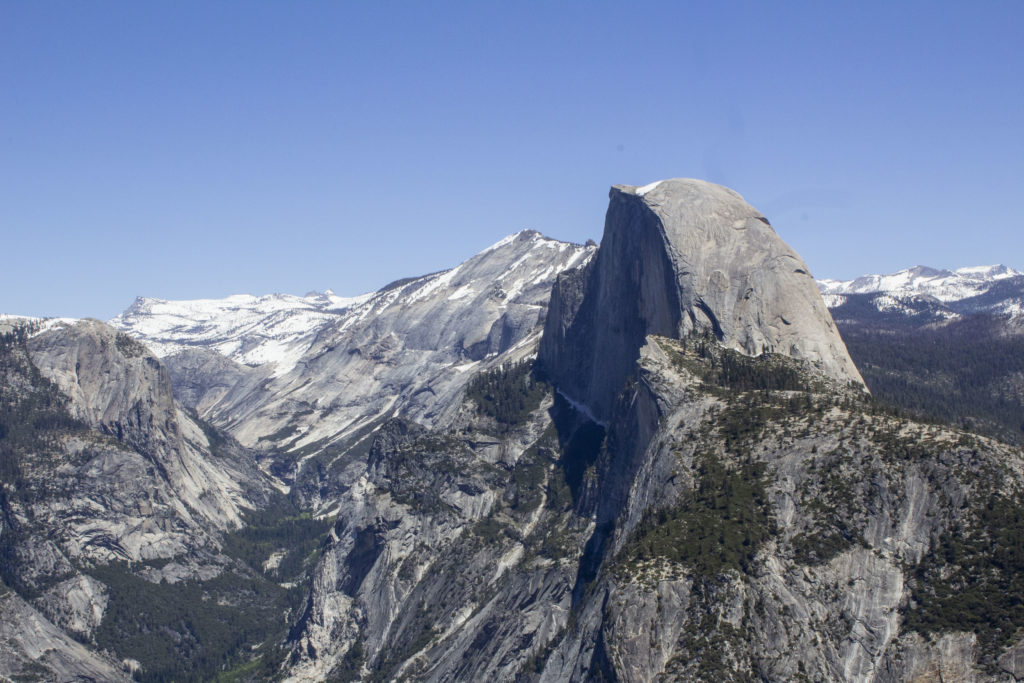 Glacier Point is one of the most popular views in the park.