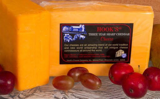 Hook's Cheese produces a variety of excellent cheese.