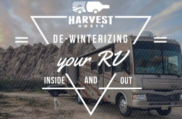 De-Winterizing your RV Inside and Out
