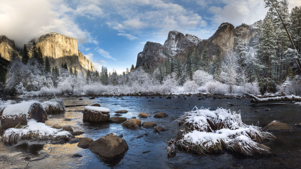 Visiting Yosemite in the off season can offer more solitude.