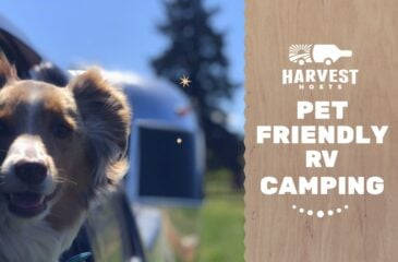 Harvest Hosts Pet Friendly RV Camping + Member Furbabies Fall 2019