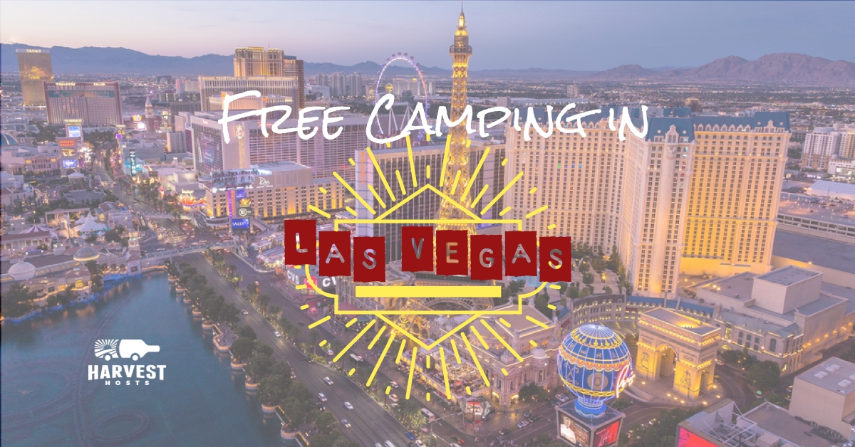 Las Vegas free camping