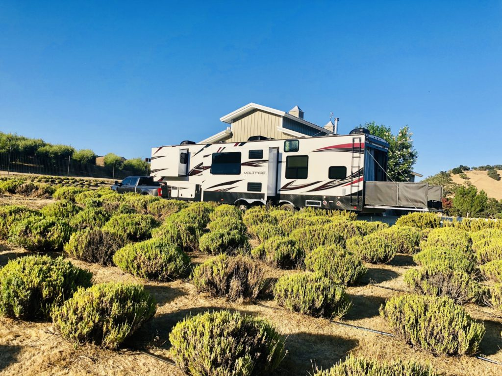 CP Farms is a gorgeous Harvest Hosts location on the central coast of California.