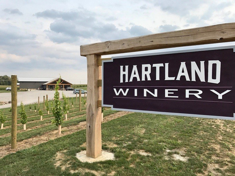 Hartland Winery is an awesome vineyard in Northeastern Indiana.