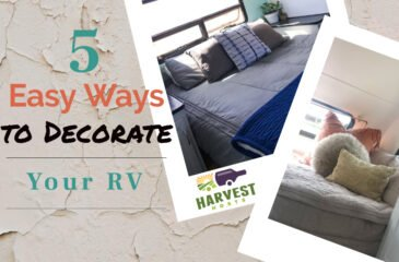 5 Easy Ways to Decorate your RV
