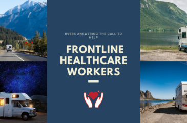 RVers Answering the Call to Help Frontline Healthcare Workers
