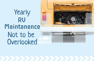 Yearly RV Maintenance Not to Overlook