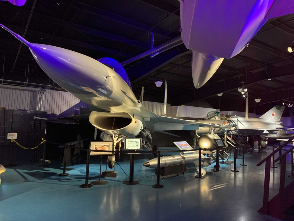 This museum features dozens of exhibits on early flights, space exploration, modern aviation, and more.