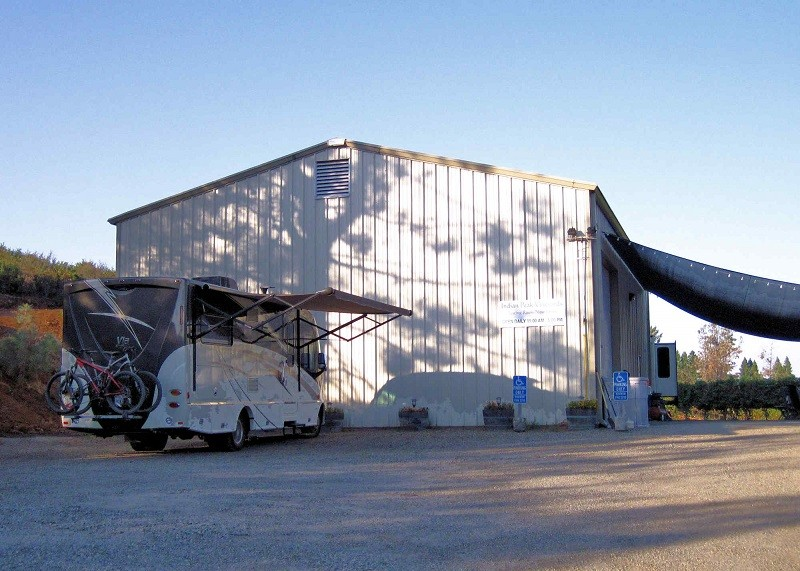 The vineyards joined the Harvest Hosts program in 2012.