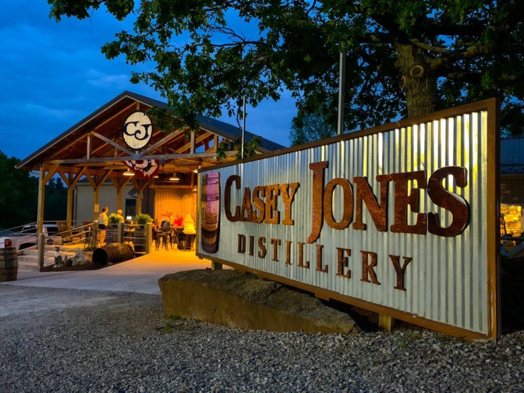 Casey Jones Distillery is a historic distillery in southern Kentucky.