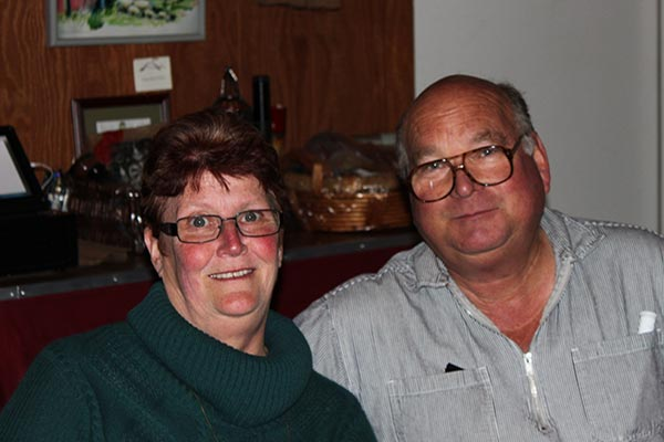 Fred and Donna Boots are the owners of Indian Peak Vineyards.