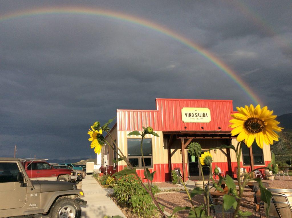 Vino Salida is a beautiful wine bar and tasting room in Poncha Springs, Colroado.