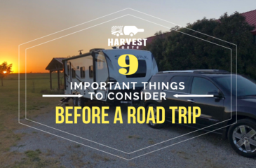 9 Important Things You Should Consider Before Going on a Road Trip