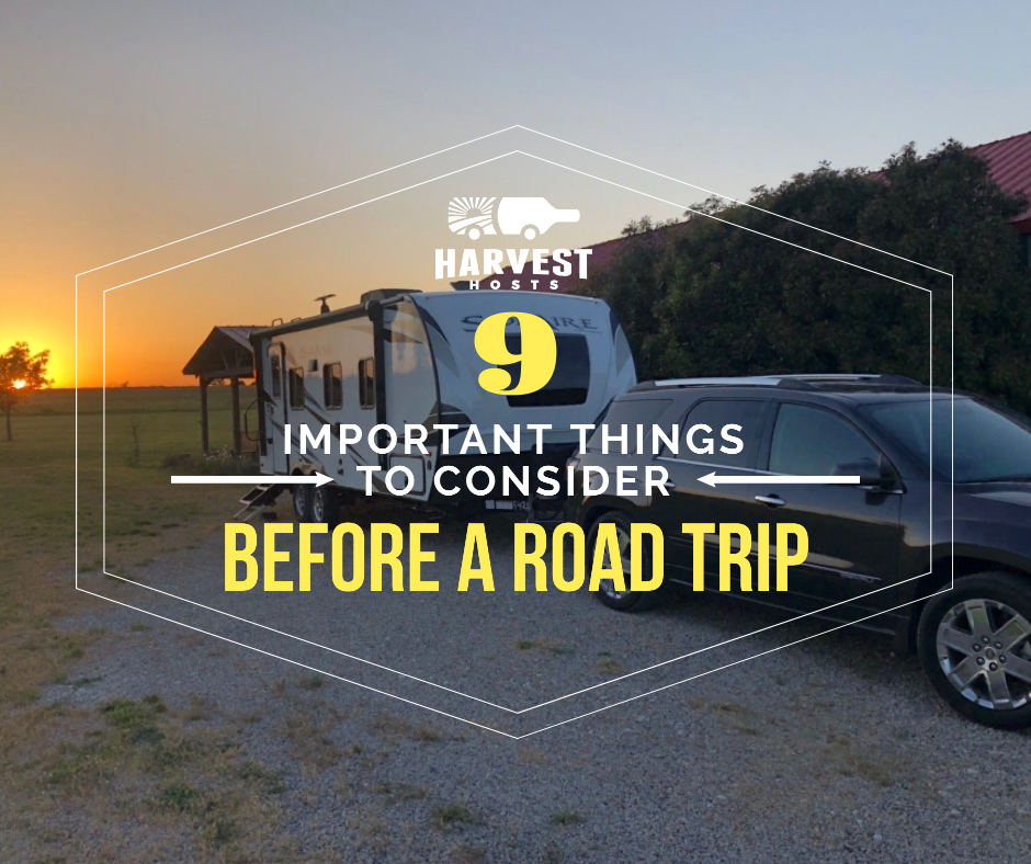 Important Things You Should Consider Before Going on a Road Trip