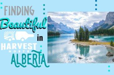 Finding Beautiful Harvest Hosts in Alberta