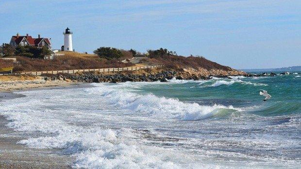 Cape Cod, Massachusetts is a popular summer destination in New England.