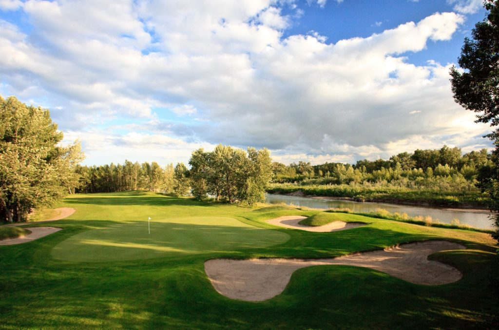 Highwood Golf and Country Club has one of the best rated courses in Alberta.