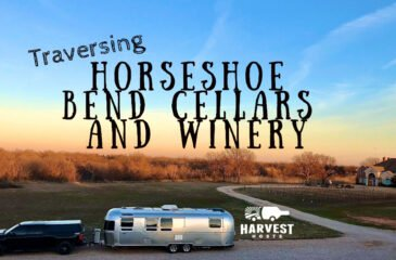 Traversing Horseshoe Bend Cellars Vineyard and Winery