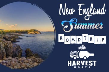 A New England Summer Road Trip with Harvest Hosts