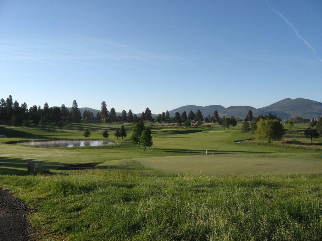 Shields Crest Golf Course showcases some of the best of Klamath Falls, Oregon.