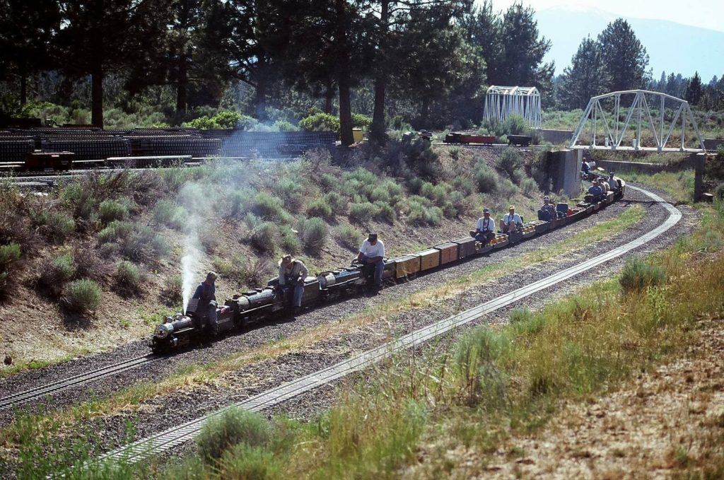 Train Mountain Railroad is the world's largest miniature railroad, located in the heart of Southern Oregon.