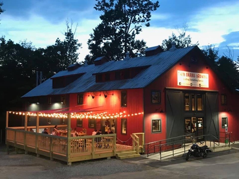 Twin Barns Brewing is a perfect stop in New Hampshire.