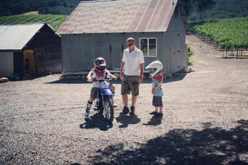 Doug purchased the winery in 2007 and named it after his two sons, Hamilton and Skylar.