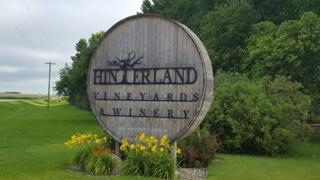 Hinterland Vineyards and Winery is an excellent Harvest Hosts location.