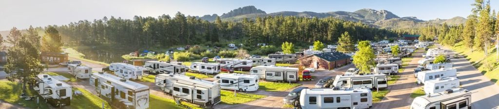 Campgrounds and RV parks can require some extra work if you are trying to socially distance yourself from others.