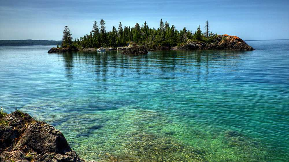Isle Royale National Park is a stunning park in Michigan.