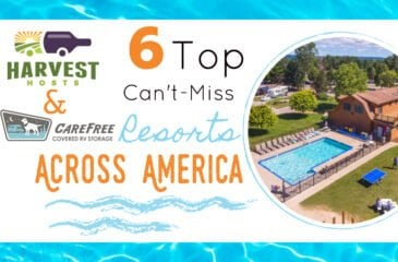 6 Top Can't-Miss RV Resorts Across America