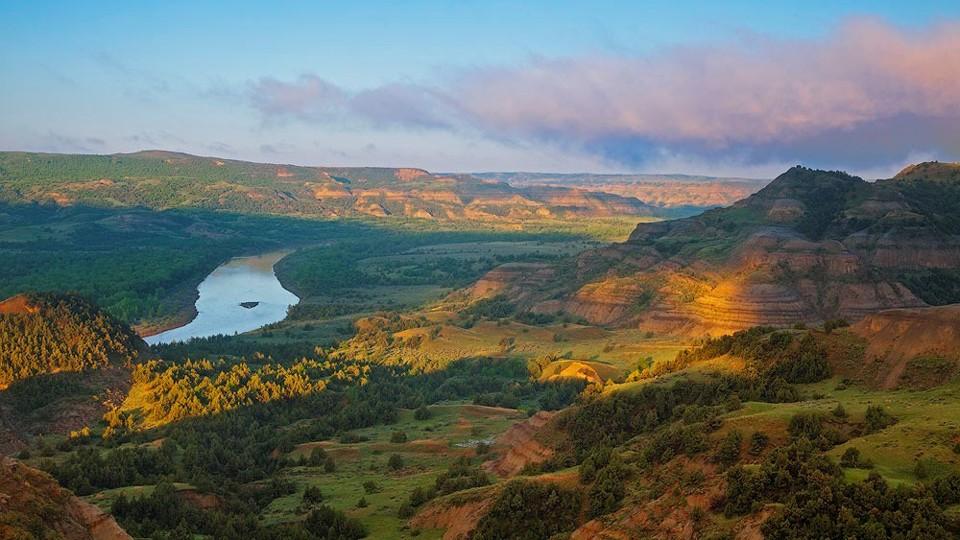 Theodore Roosevelt National Park is a stunning park in North Dakota.
