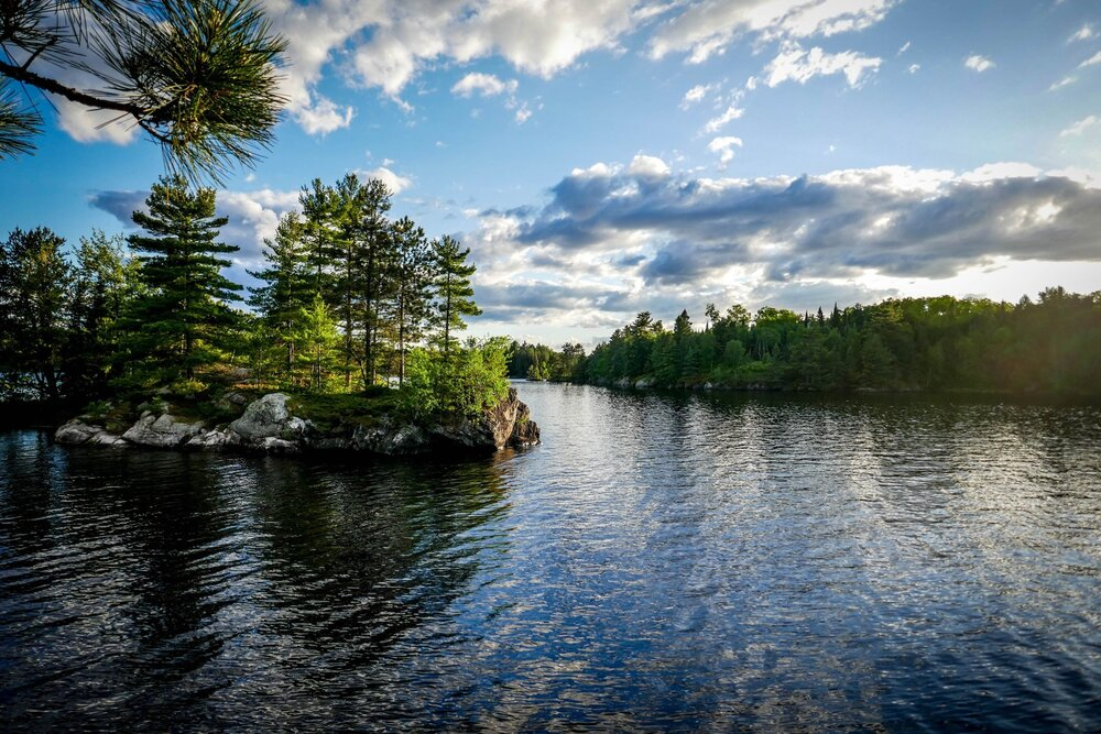 Voyageurs ]is a stunning park in Minnesota.