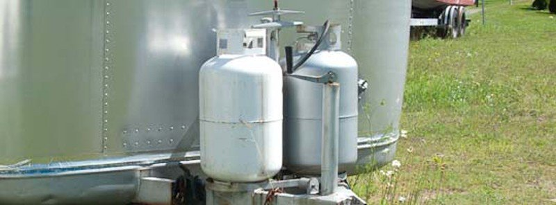 Using propane tanks in an RV comes with some risks.