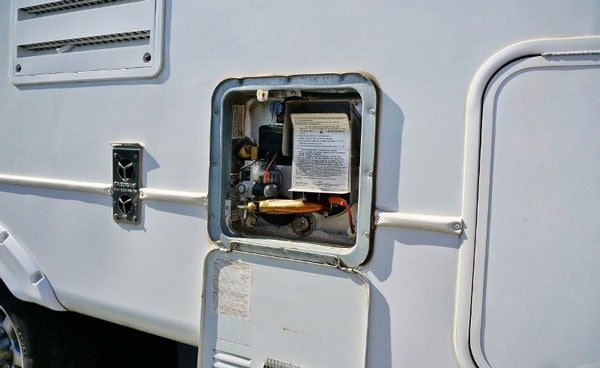 Regularly inspect all propane-burning appliances.
