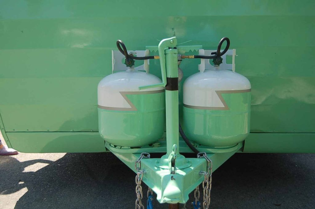 Be sure to regularly inspect your propane tanks.