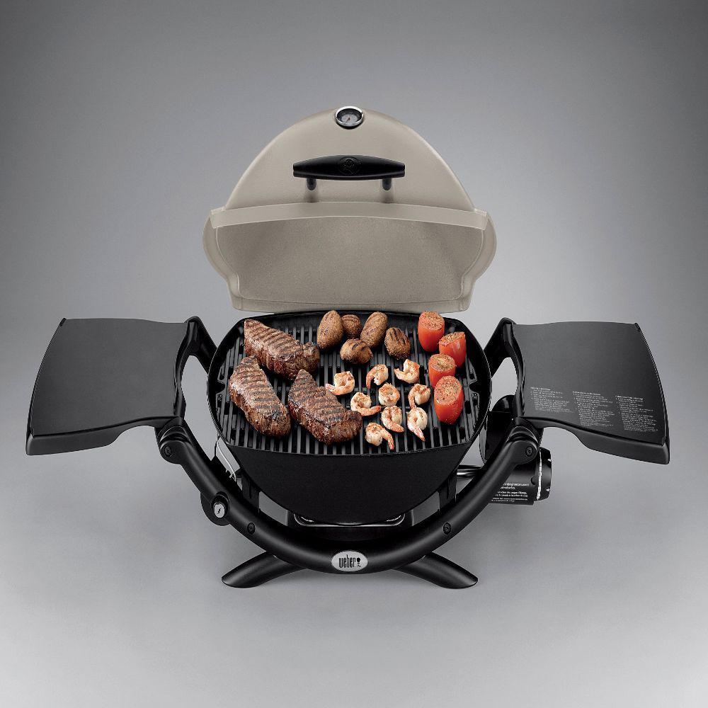 Weber brand portable grill