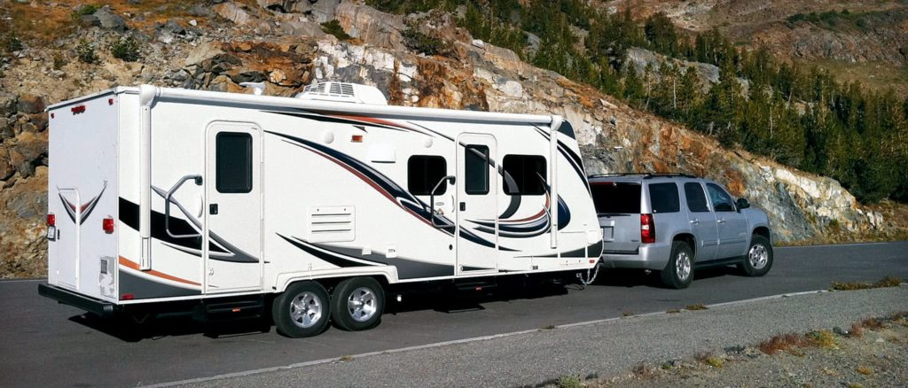 Having a truck or SUV that can tow makes a big difference for an RV purchase.