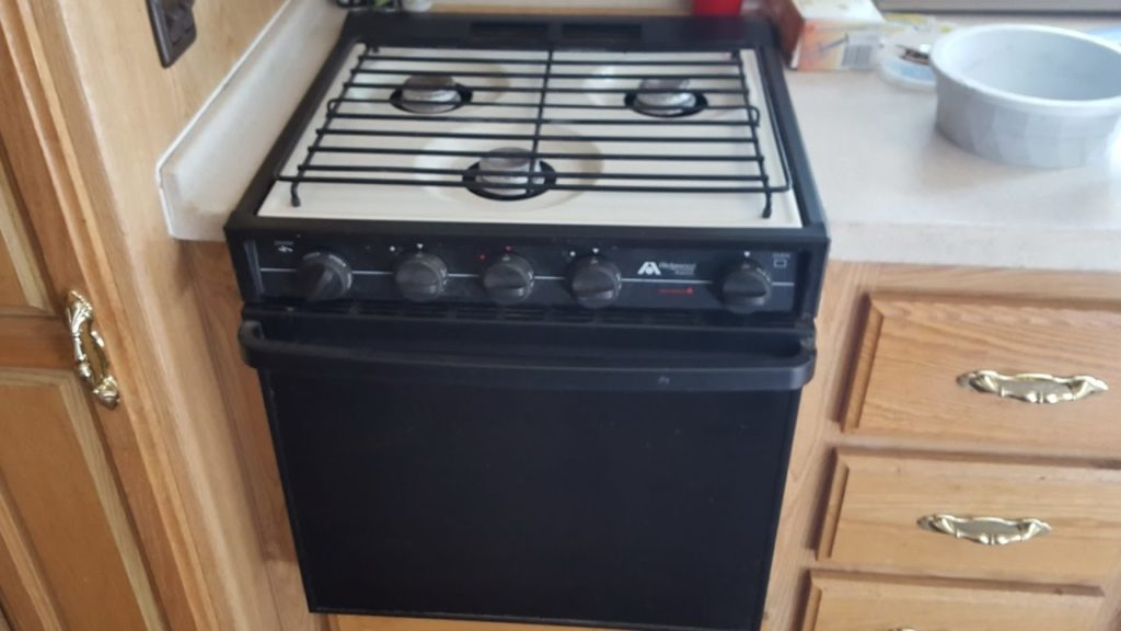 Do not operate your stove or oven if you smell propane.