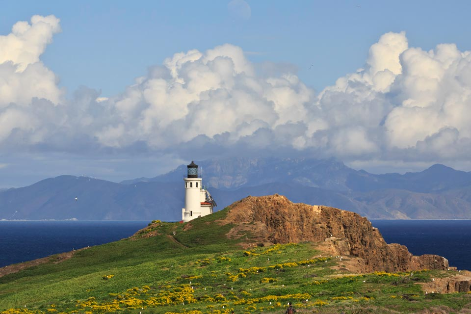 Anacapa Island is the closest of the Channel Islands.