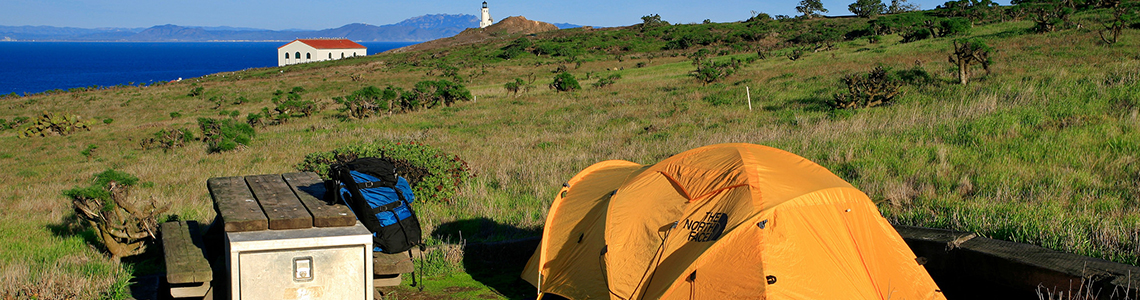 Camping is permitted in the campgrounds of each of the individual islands.