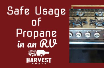 Safe Usage of Propane in an RV