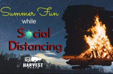 Summer RV Fun while Social Distancing