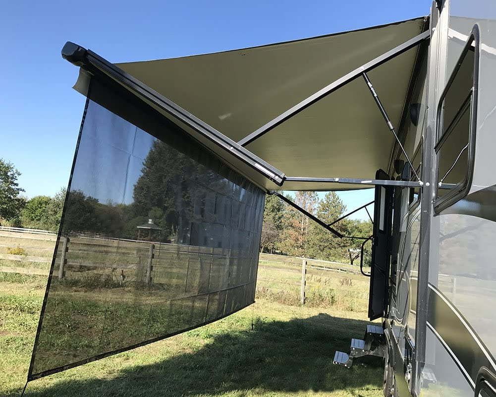 Sunshades are a great extension to your awning.