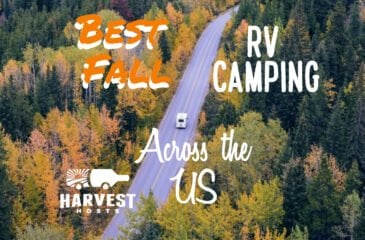 Best Fall RV Camping Across the US
